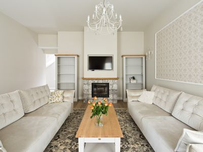 Photo for Welcome to new and stylish 4-rooms apartment in the heart of Vilnius!