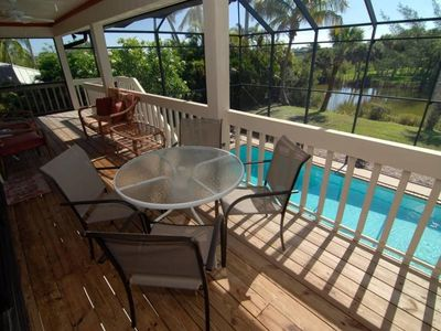 Photo for SANIBEL POOL HOUSE - PET FRIENDLY MONTHLY RENTAL PLUS $100+ VIP BEACH DISCOUNTS!