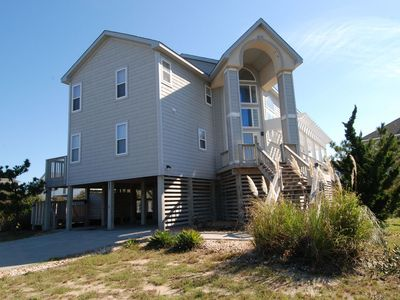Photo for Only 300 ft to beach! Private and community pool, Hot Tub!