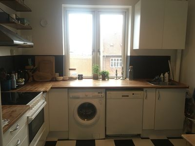 Photo for Large and bright urban apartment close to city center