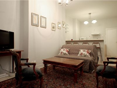 Photo for Charming and very quiet Parisian apartment ,close to La Sorbonne and St Germain
