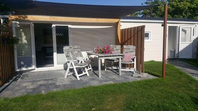 Photo for Cozy and new summer house a 5-minute walk from the beach and sea!