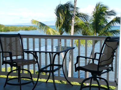 Photo for Oceanfront Luxurious Tranquility with Million Dollar View on Molokai