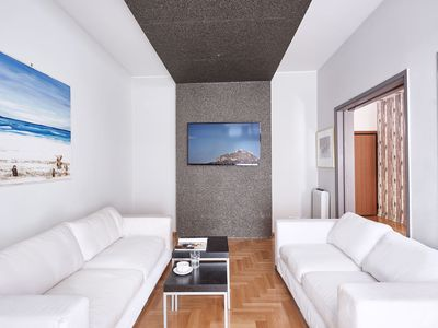 Photo for Spacey and bright apt in Kolonaki