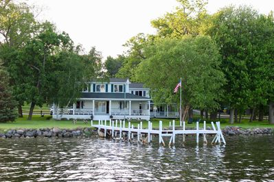 Water view of main house