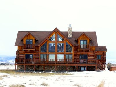 Photo for Teton Summit View Log Home in the Mountains