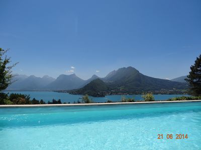 Photo for 7BR Villa Vacation Rental in Talloires-Montmin, Auvergne-Rhône-Alpes