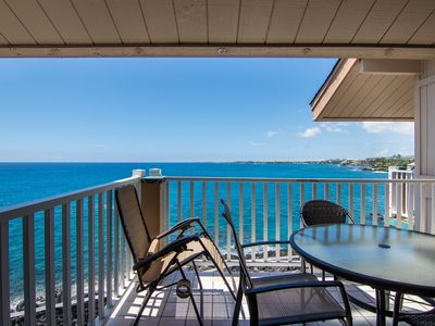 Photo for Upgraded Top Floor   Direct Ocean Front View   Close to Town   Starts at $149/night