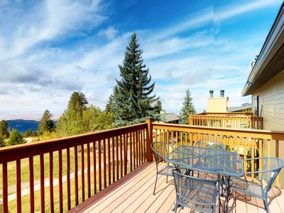 Photo for Ski-in condo w/ shared hot tub & beautiful views - close to the slopes & Boise