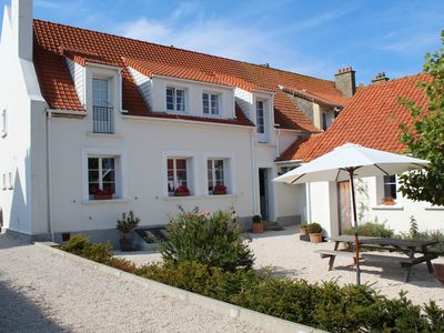 Photo for Comfortable house with garden near the beach of Cap Gris Nez, 6km from Wissant