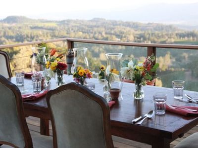 Photo for Mountaintop Vineyard Retreat with Views of Entire Napa Valley