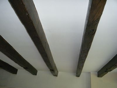 The Beautiful Beams in the Lounge