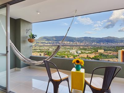 Photo for RELAX & ENJOY THE BEST VIEW OF MEDELLIN,1.300Sq.Ft