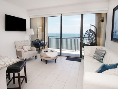 Ocean Forest Plaza 2212, Lovely 1 BR Ocean Front Condo with Indoor/Outdoor Pool and Indoor Hot Tub