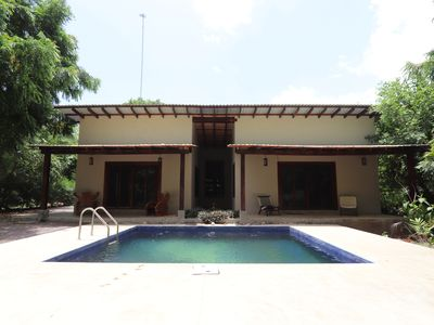 "Photo for ""Casa Boom!!"" Beautiful 2 Bed, 2 Bath House with Pool on the Beach by the Boom!"