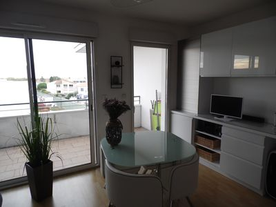 Photo for Charming apartment T1 bis furnished well exposed with terrace