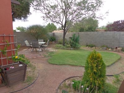 Photo for All-Inclusive, Large 2BR with private yard walking distance to Rt 66 and