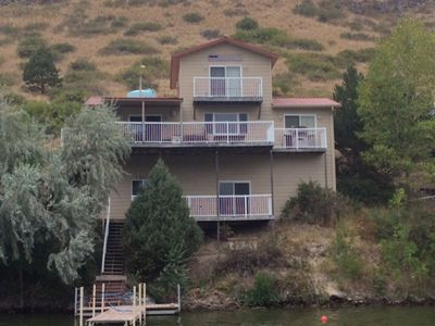 Photo for Beautiful Lakefront House on Holter Lake.
