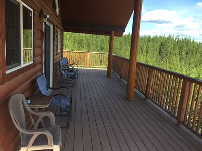 Photo for Cozy cabin retreat in beautiful Polebridge, MT