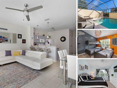 Photo for Magical Mouse Townhouse   Private Pool,  Kids Bedroom, Contemporary Upgrades, and Near to Clubhouse