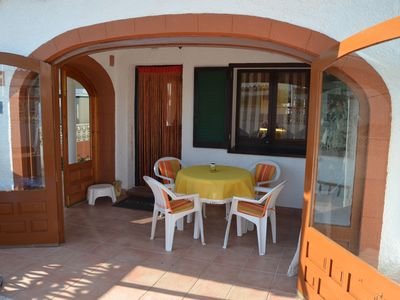 Photo for Villa with 1 bedroom and bathroom only 9 Minunte walk from the sea ...