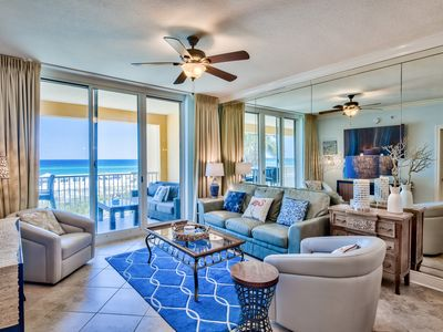 Photo for 3 Bdr 3 Bath Gulf Side Azure Beachfront