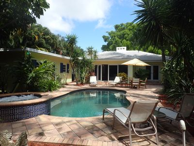 Photo for Private in-town Delray Beach Oasis