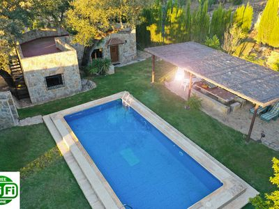 Photo for Guest house near Ronda with private pool, garden