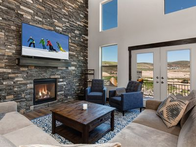 Photo for Brand-New 4BR w/ Private Hot Tub & Fireplace - Near Ski Resorts & State Park