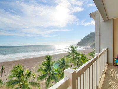 Photo for Oceanfront condo with beach & shared pool access, and amazing ocean views!