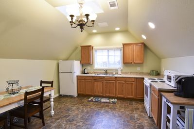 Kitchen well designed for cooking and dining!
