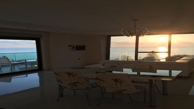 Photo for Luxury Apt in Konak Sea Side with a Sea front view and a private beach