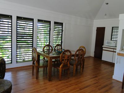 Dining area to enjoy your meals