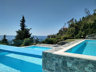 Photo for Cinqueterre (Levanto): Casa Excelsior with swimming pool