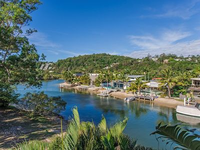 Photo for Noosa Sound, waterfront, stones throw to main beach