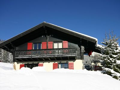 Photo for Portes du Soleil Switzerland, ideal ski chalet on the slopes