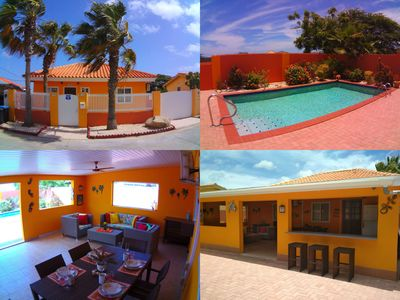 Photo for Cas Trupial - Private villa with pool, 3 Beds, 2 Baths, big covered porch