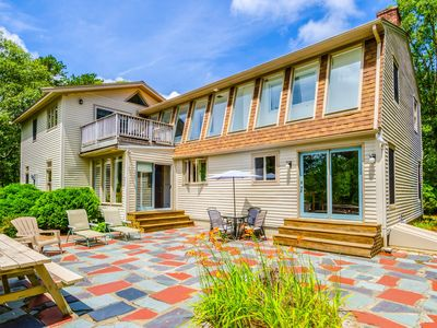 Photo for Beautiful 3,100 Sq.Ft. Home In The Woods, Private Road, Close To Marconi Beach