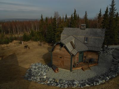 Photo for Large 1BR + loft, 2 Acres on Anchorage Hillside; wildife and recreation