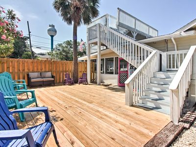 Photo for Tybee Island Home w/Decks & Porch - Walk to Beach!