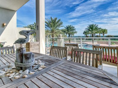 Photo for Resort-style ocean-front condo, w/shared pool, hot tub, fitness center & more!