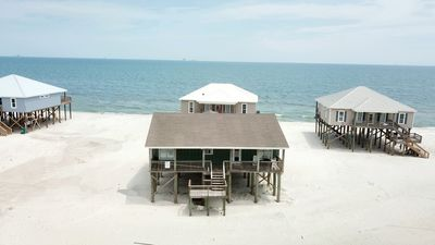 Photo for Beach Break - Gulf-side Beachhouse with great views, and just one house back from the Gulf