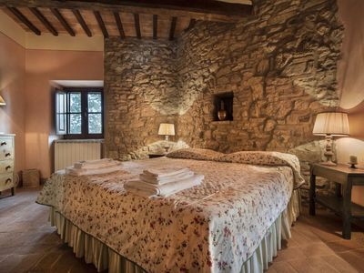Photo for Exclusive independent farmhouse within a Medieval hamlet of etruscan origin