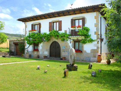Photo for Charming rustic house just steps from Pamplona with free WIFI and barbecue