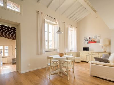 Photo for Elegant and bright apartment 20 meters from the city walls