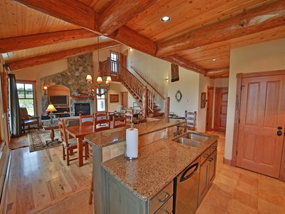Photo for Beautiful designer home with views of the ski area and surrounding Mountains!