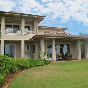 Townhouse is on the middle of the 18th fairway of the Manele Golf Course