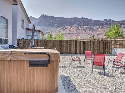 Photo for Moab Townhome w/Hot Tub & Mtn. Views- near Arches!