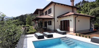 Photo for Luxury 4-bedroom Villa Amelie  (sleeps 9) near Opatija, 15 mins to beach