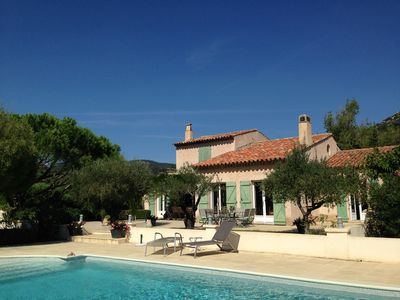 Photo for Charming villa in Grimaud (Var) - great calm, beautiful environment